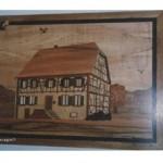 Maison alsacienne avec ses colombages